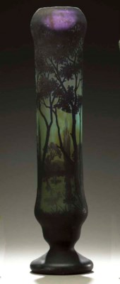 AN OVERLAID AND ETCHED GLASS V