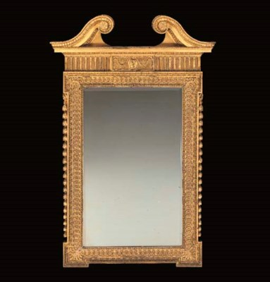 A VICTORIAN GILT-COMPOSITION A