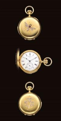 H.R. Ekegren. An 18K gold and