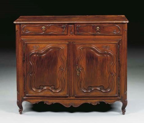 A LOUIS XV PROVINCIAL STAINED