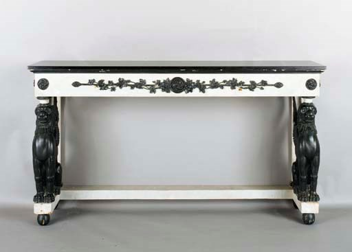 A BALTIC NEOCLASSIC STYLE WHIT