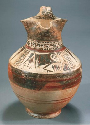 AN EAST GREEK TREFOIL OINOCHOE