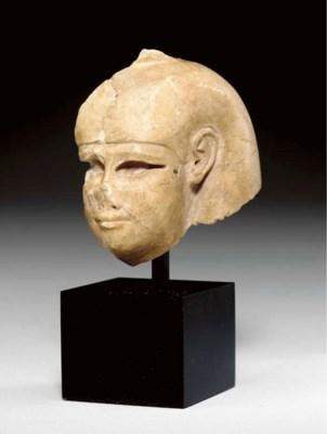 AN EGYPTIAN INDURATED LIMESTON