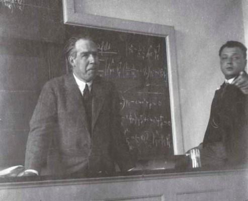 BOHR, Niels (1885-1962). Deter