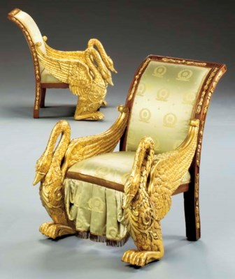 A PAIR OF RUSSIAN NEOCLASSIC M