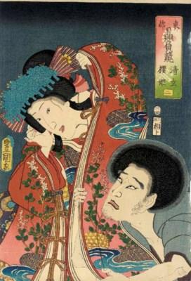 Utagawa Kunisada (1786-1865) T