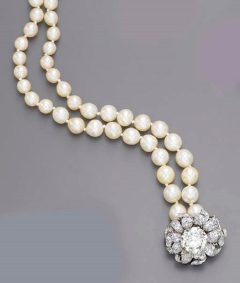 A SINGLE-STRAND CULTURED PEARL