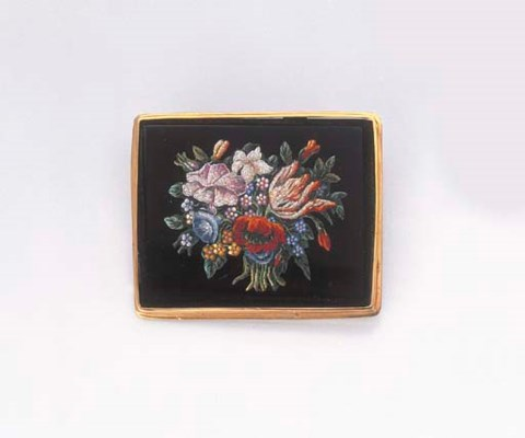BROCHE MICROMOSAIQUE
