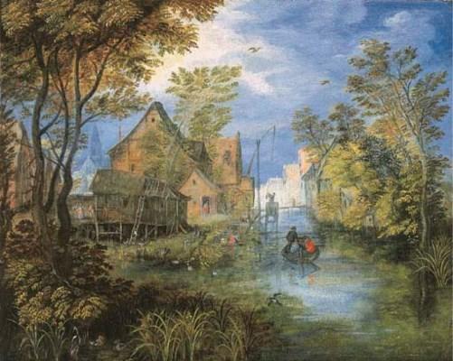 Suiveur de Jan Brueghel l'Anci
