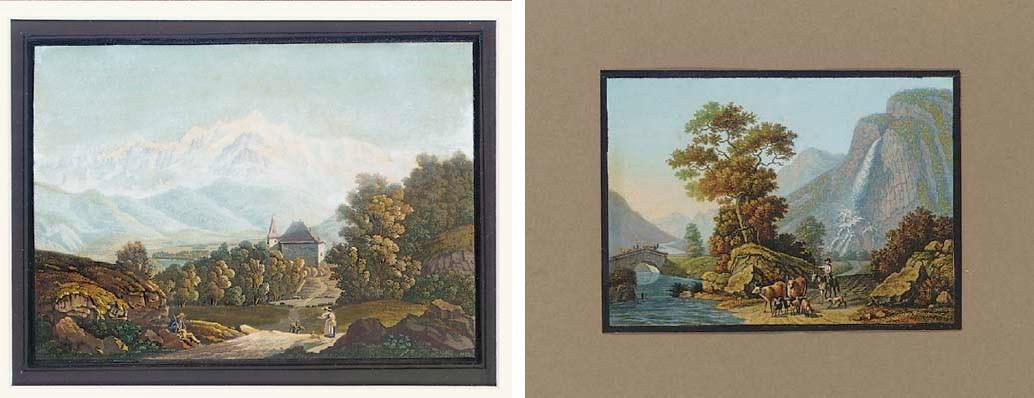 ECOLE SUISSE, XIXème siècle