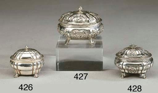 Zuccheriera in argento, Italia