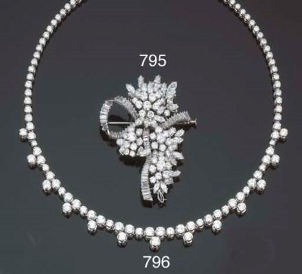 Spilla in diamanti