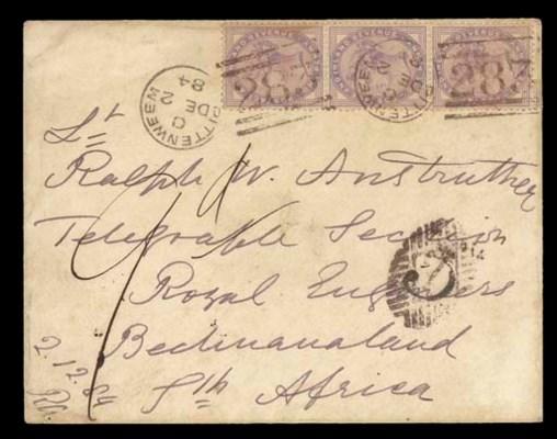 cover 1884 (2 Dec.) envelope e