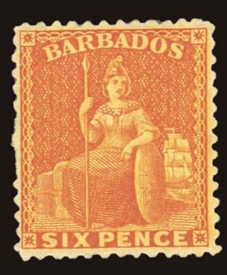 unused  1875-80 perf. 12½ 6d.