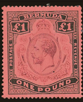 unused  1918-22 MCA 2/- to £1