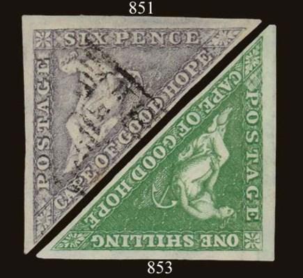 used  6d. slate-purple, small