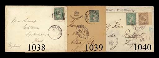 cover 1896 (16 Nov.) envelope