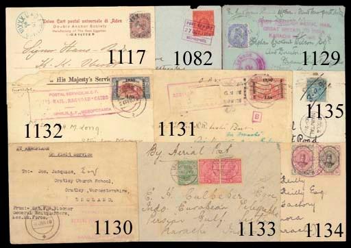 Air Mail cover 1922 (May) Majo