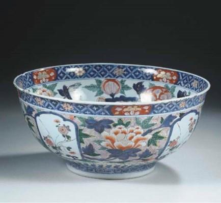 An Imari deep bowl
