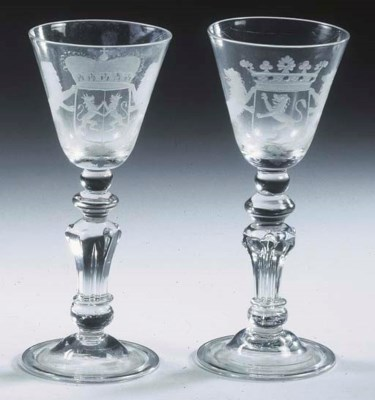A set of three Dutch engraved