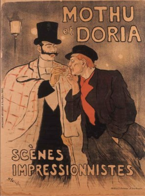 Mothu et Doria: scènes impress