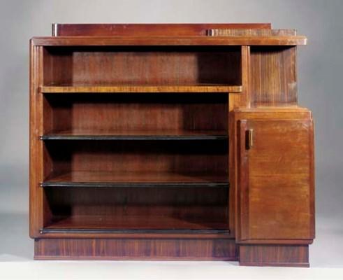 A mahogany and coromandel side