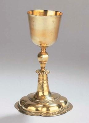 A German silver-gilt chalice