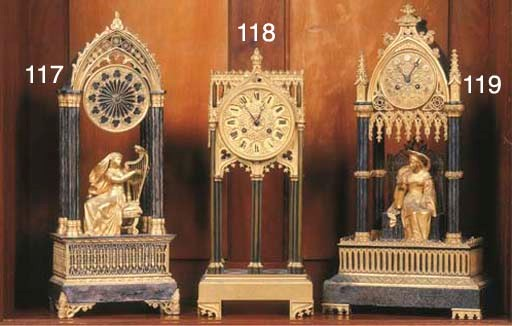 A Louis Philippe ormolu and si