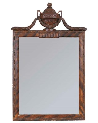 A German grained mirror