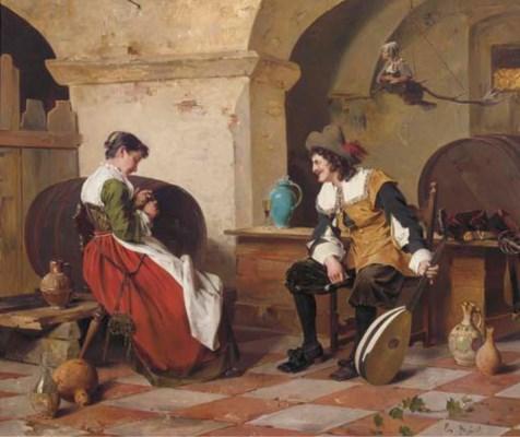 Ernst Meisel (German, 1838-189