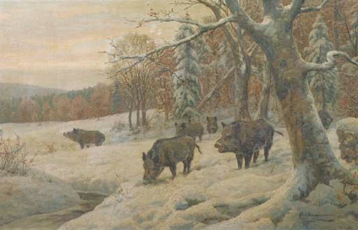 Carl Zimmermann (German, 1863-