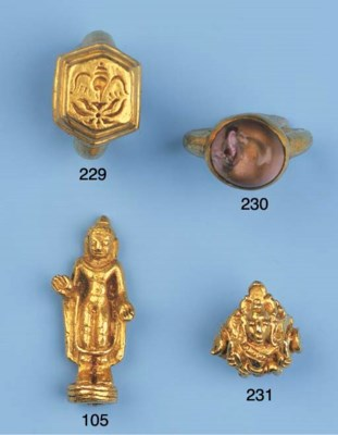 a central javanese gold ring