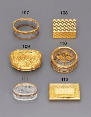 A GERMAN FOUR-COLOUR GOLD MOUN