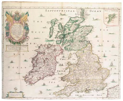 BLOME, Richard (d.1705). Brita