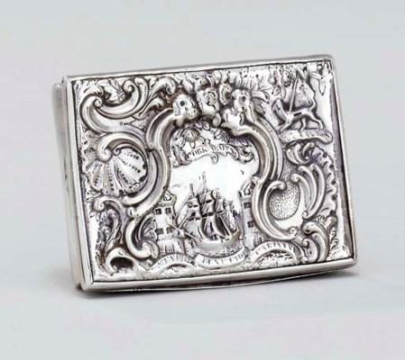 A George II Irish silver freed