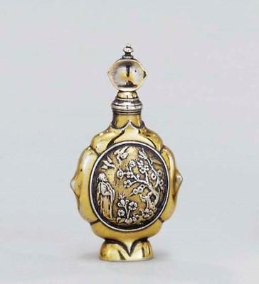 A William III silver-gilt scen