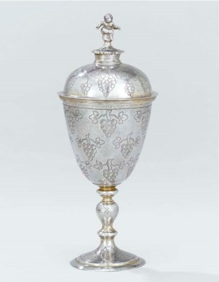 A James I silver wine-cup and
