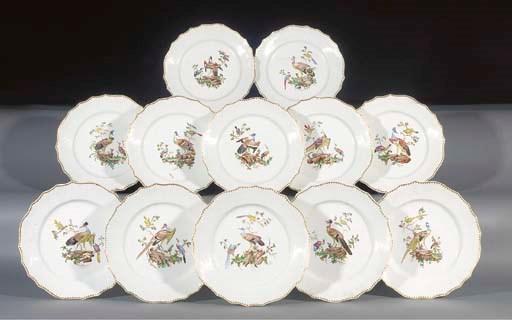 Twelve Tournai plates