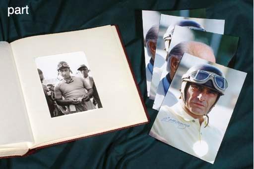 Ferrari - Juan Manuel Fangio &
