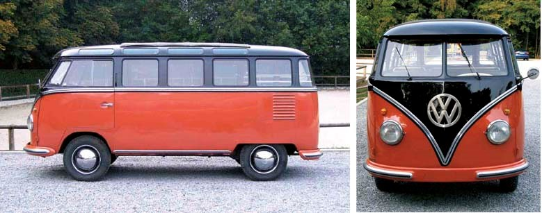 1959 VOLKSWAGEN TYPE II 23-WIN