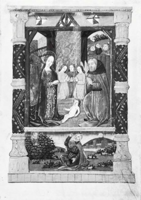 NATIVITY WITH MOSES AND THE BU