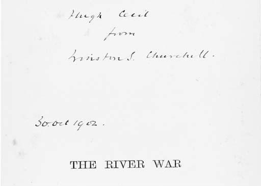 CHURCHILL, Sir W.L.S. The Rive