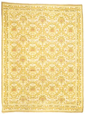 A fine Spanish carpet of styli