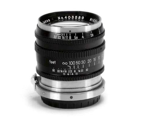 Nikkor-P·C f/2 8.5cm. no. 4035