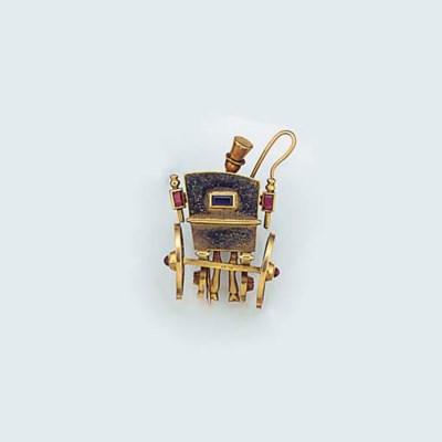 A Mellerio gold and gem retrea