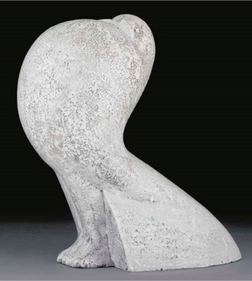 An earthenware figure