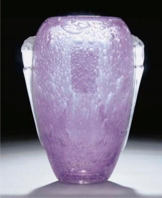 'Pluviose' a glass vase
