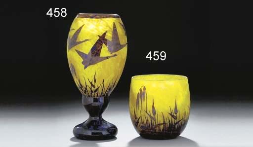 'Décor Halbran' a cameo glass