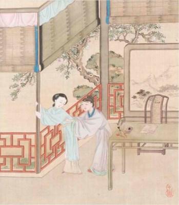 A Chinese erotic album, 19th c