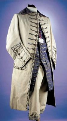 A fine gentleman's suit, the c